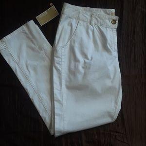 Michael Kors white pants size 10